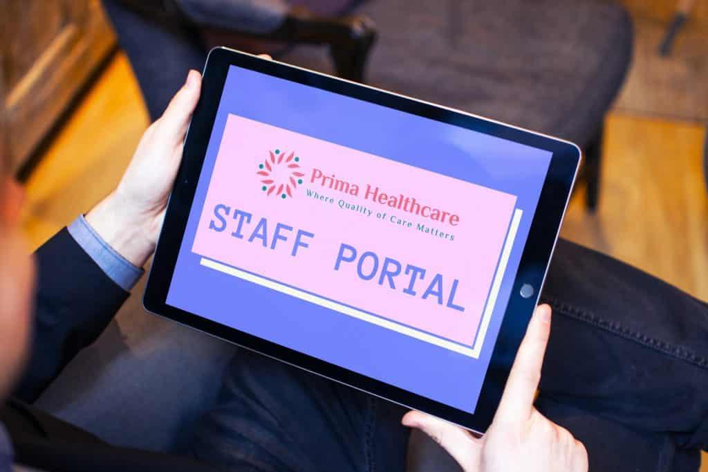 Prima Healthcare Staff Portal